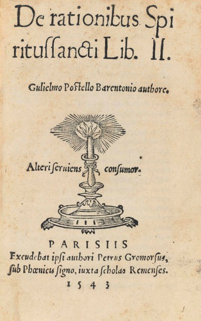 POSTEL, Guillaume (1510-1581).