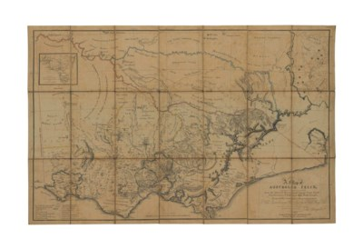 HAM, Thomas (1821-1870). A Map