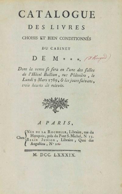 HANGARD, Dincourt d' – Catalog