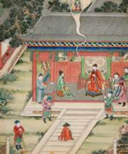 NINE DAOIST PAINTINGS