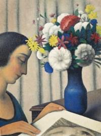Figure et bouquet
