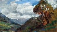 Berglandschaft bei Oetz, Tirol