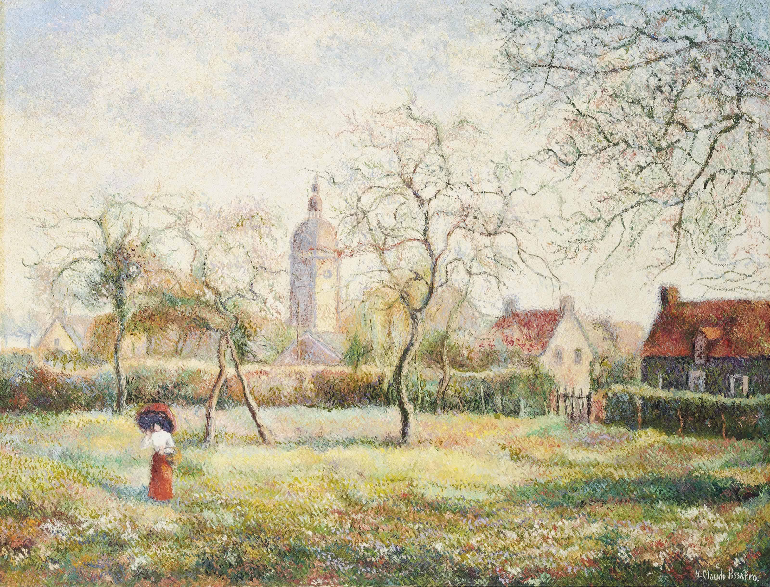 Hugues Claude Pissarro (b. 1935)
