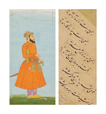 A MUGHAL COURTIER