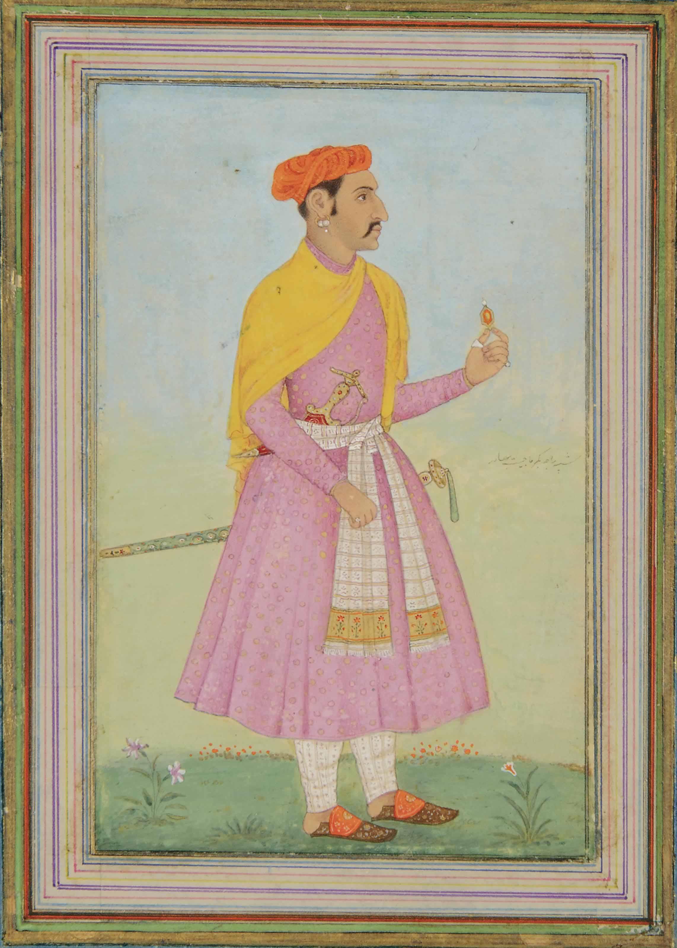 PORTRAIT OF A RAJA