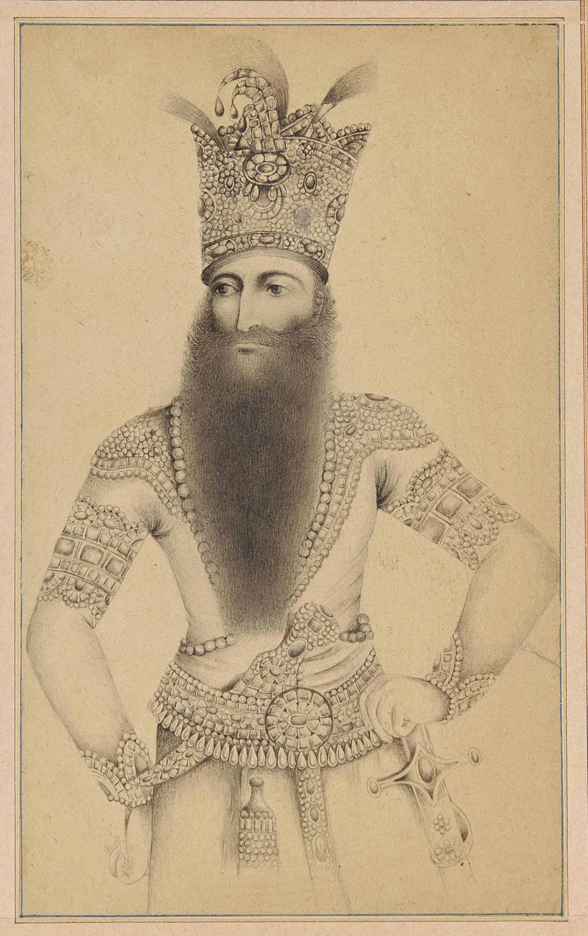 A PORTRAIT OF FATH 'ALI SHAH