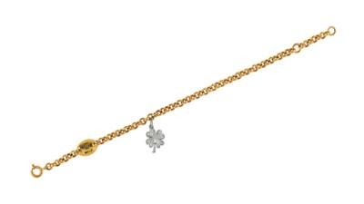 A diamond-set bracelet, by Dod