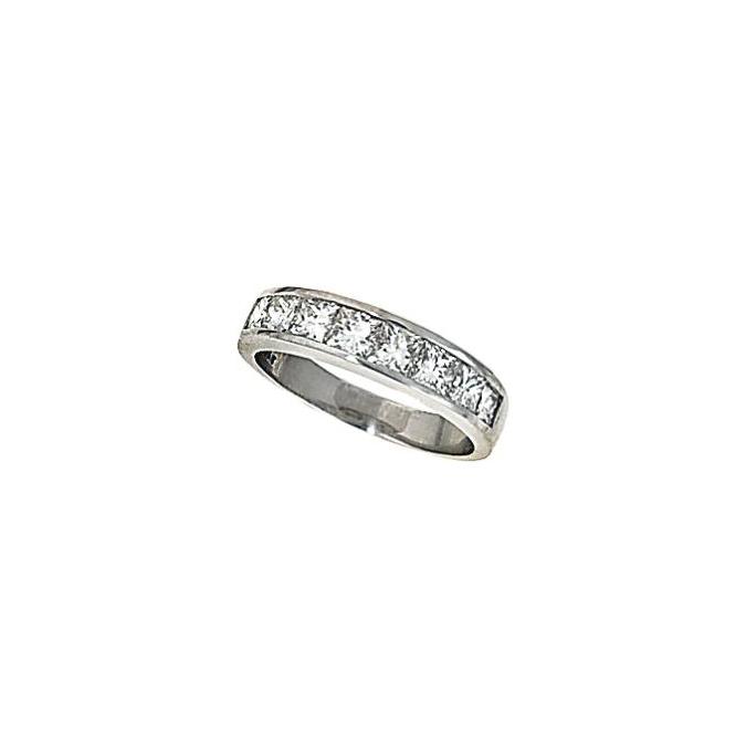 A diamond half-hoop ring, by T