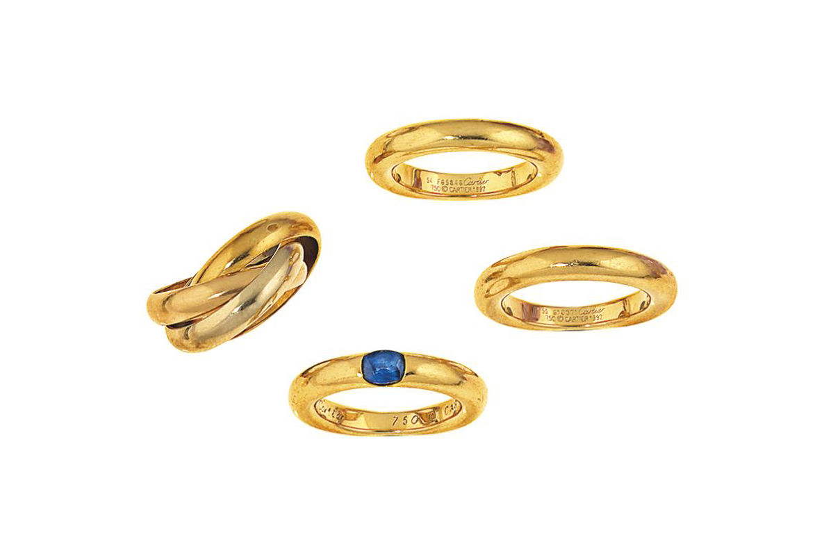 A group of rings, by Cartier