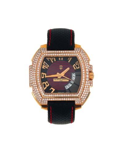 A diamond-set ' Tempo' calenda