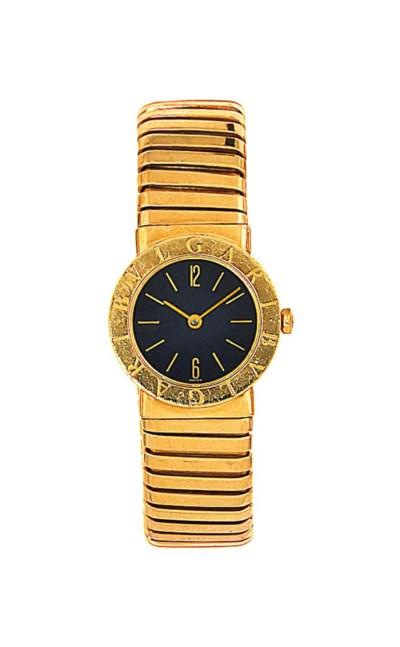 A 'Tubogas' quartz wristwatch,