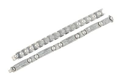 A diamond-set bracelet, by Cha