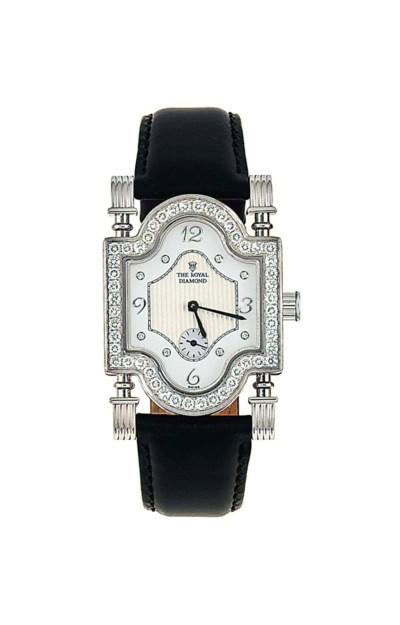 An 18ct white gold diamond 'Co