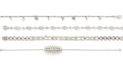 A small group of gem-set brace