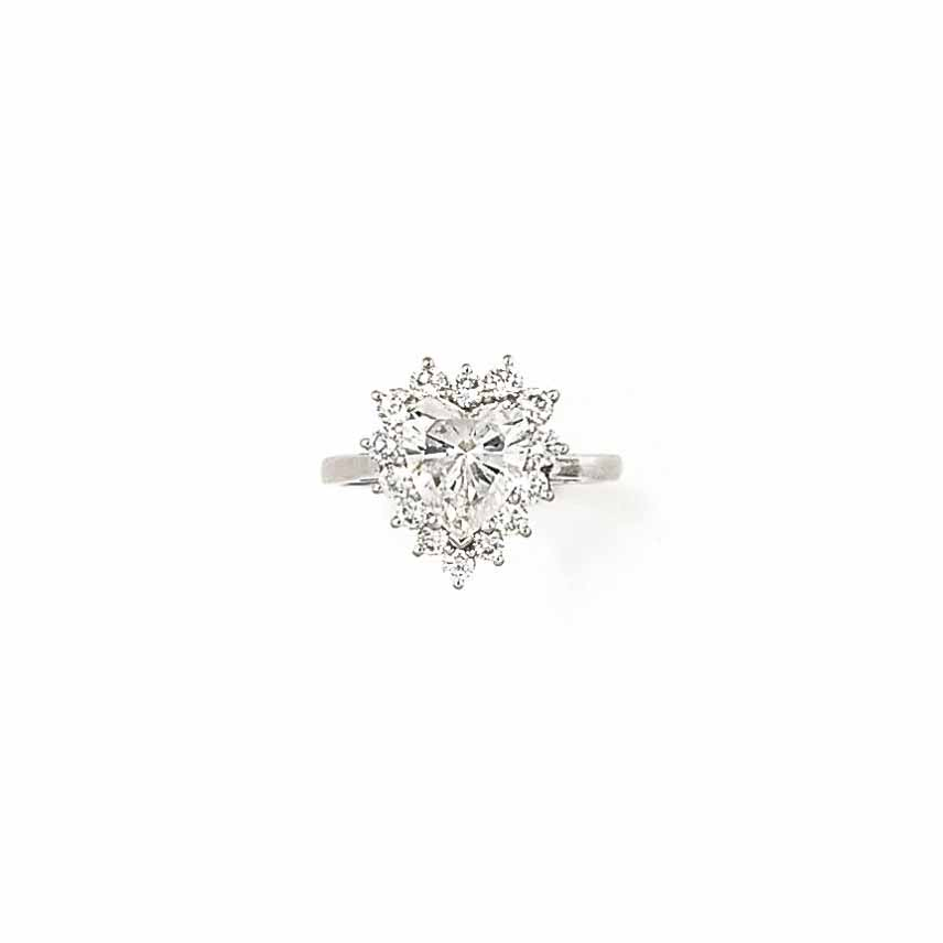 A DIAMOND SINGLE STONE RING, BY KUTCHINSKY
