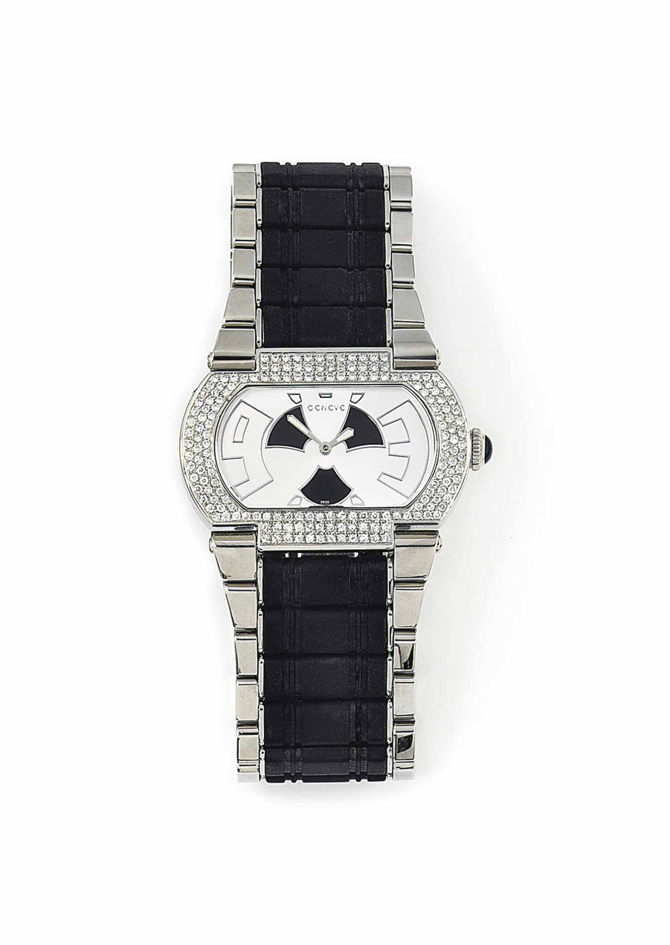 A STAINLESS STEEL DIAMOND AND