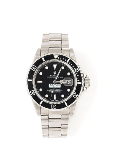 A STAINLESS STEEL AUTOMATIC 'O