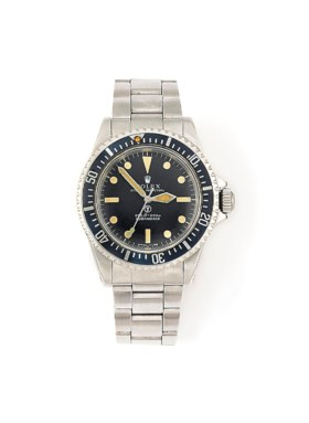 A STAINLESS STEEL AUTOMATIC 'SUBMARINER' WRISTWATCH, BY ROLE