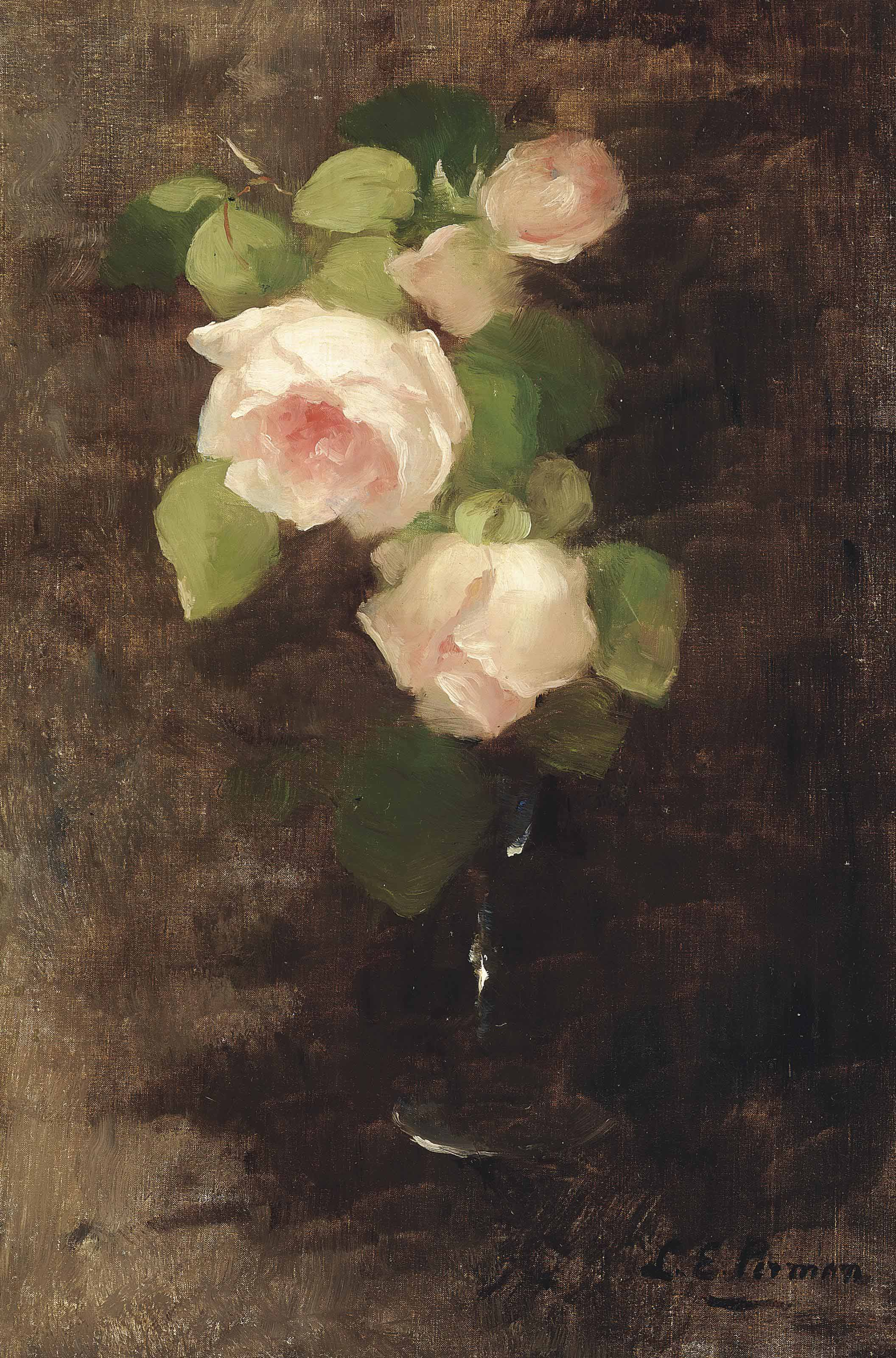 A Vase of Roses