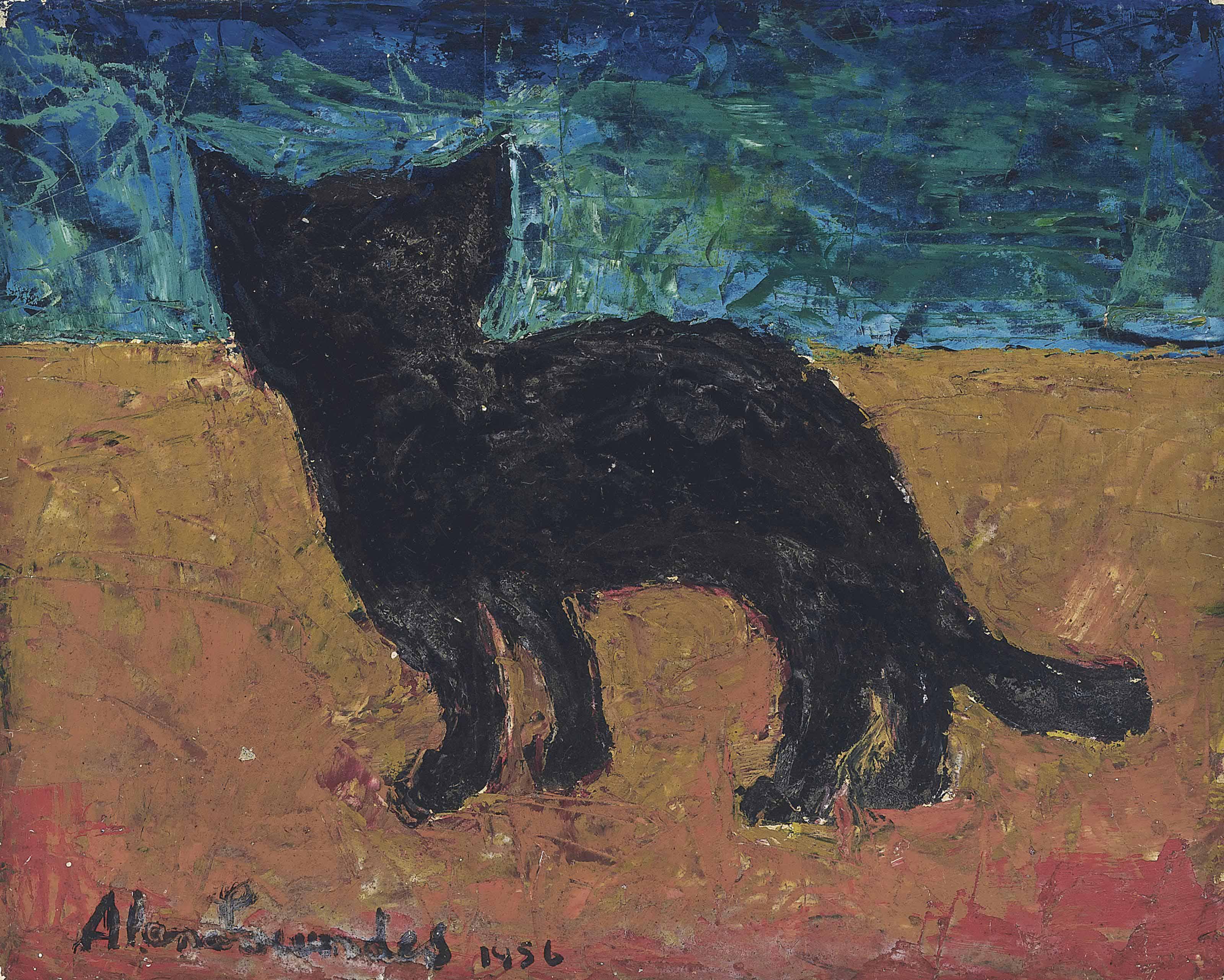 Seaside Cat