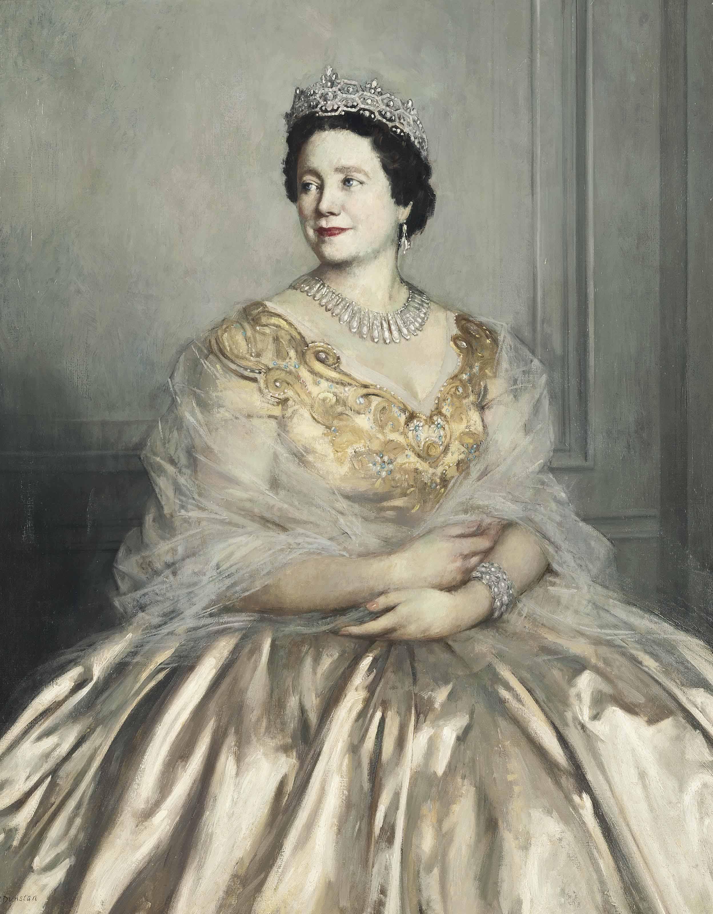 Portrait of Her Majesty Queen Elizabeth, The Queen Mother