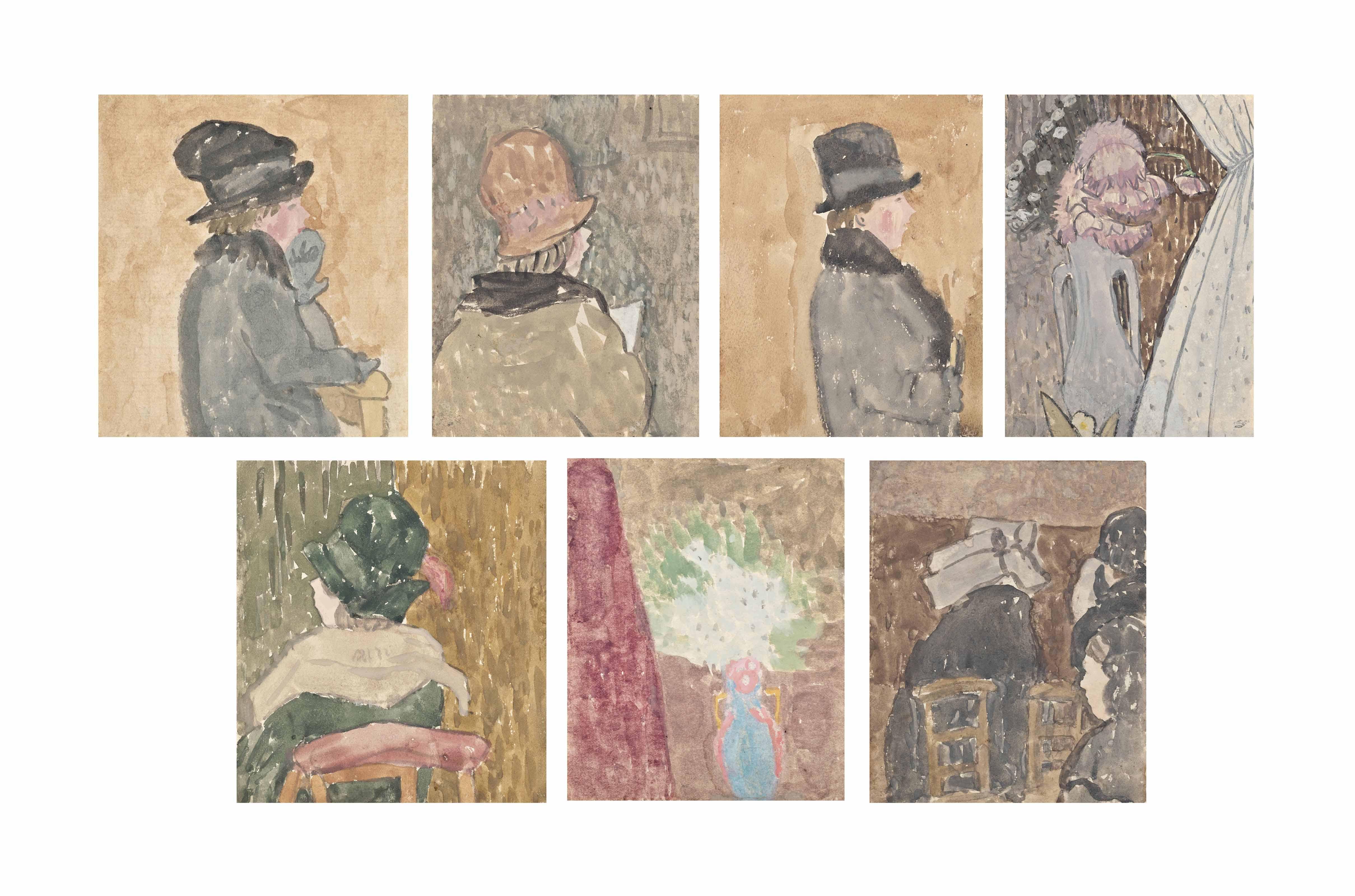 La Retraite, sketchbook, March 1928