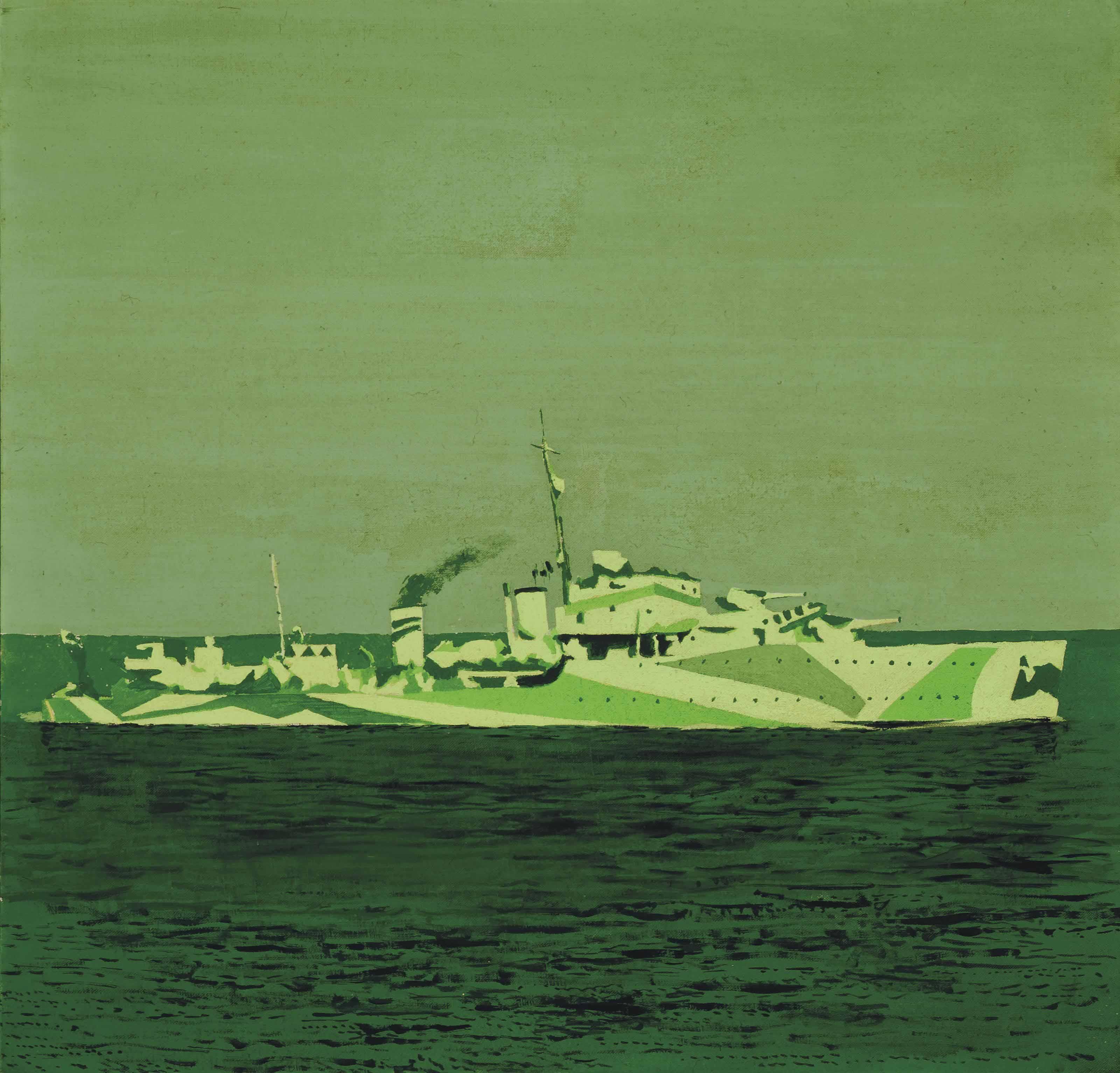 H.M.S. The Escort (Destroyer)