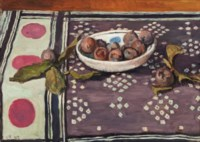 Still-life with a bowl of figs