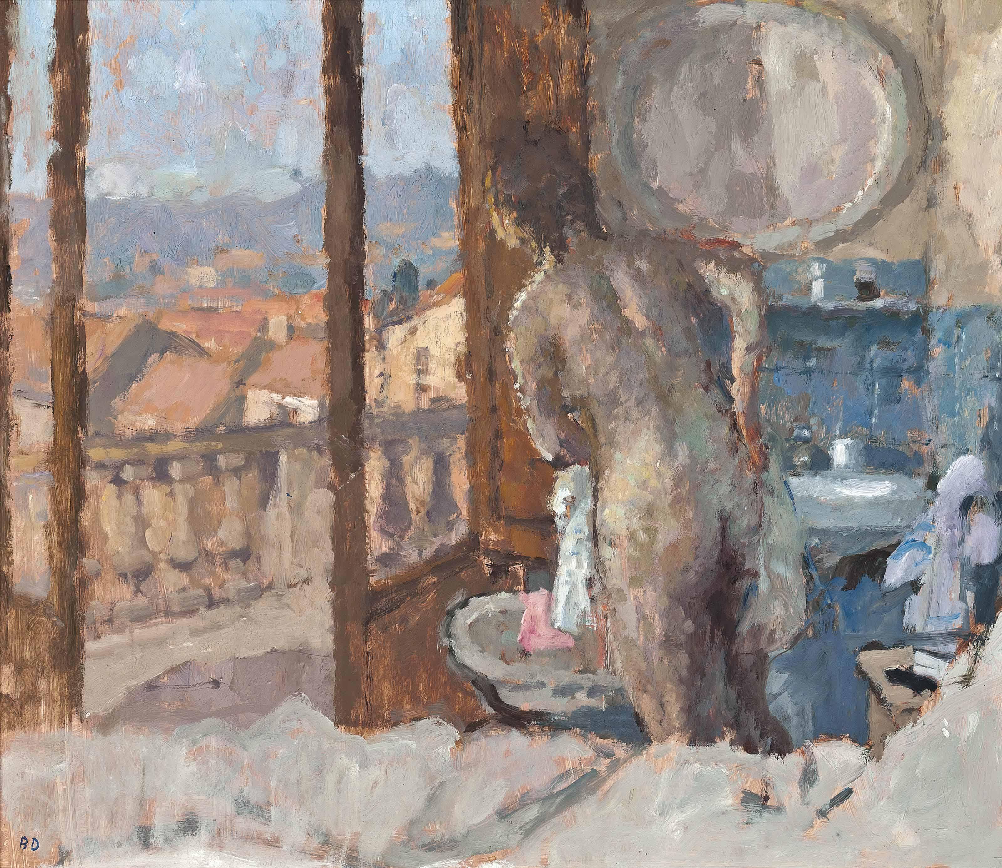 Balcony Room, San Gimignano