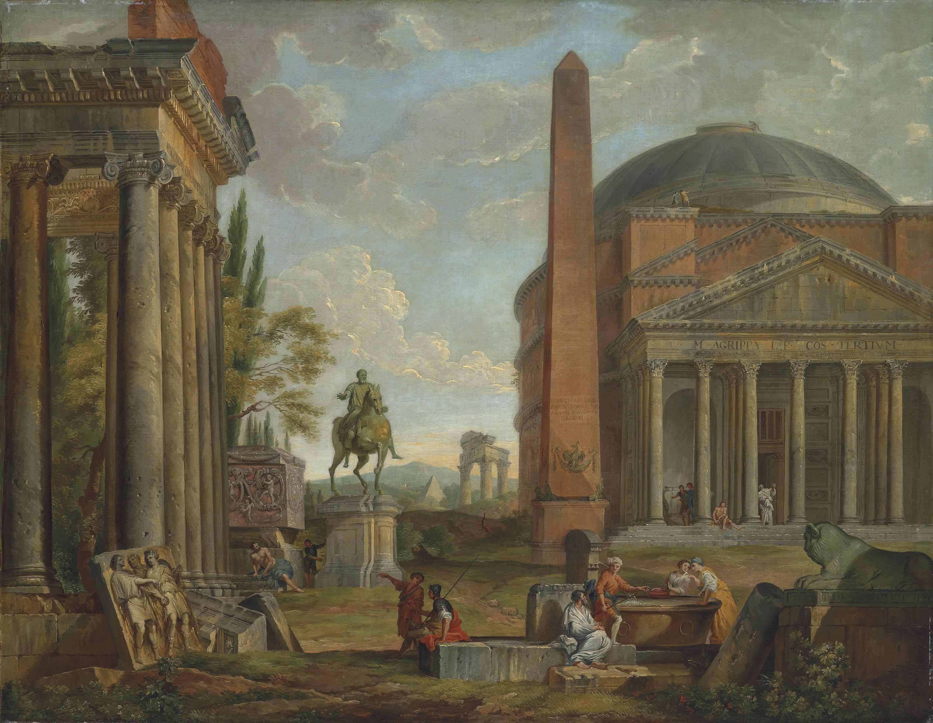 Circle of Giovanni Paolo Panin