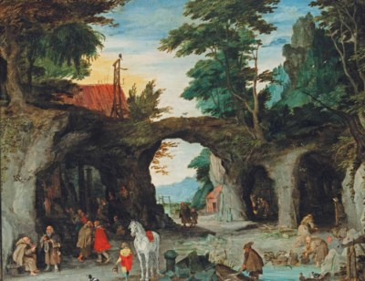Circle of Jan Brueghel I (Brus