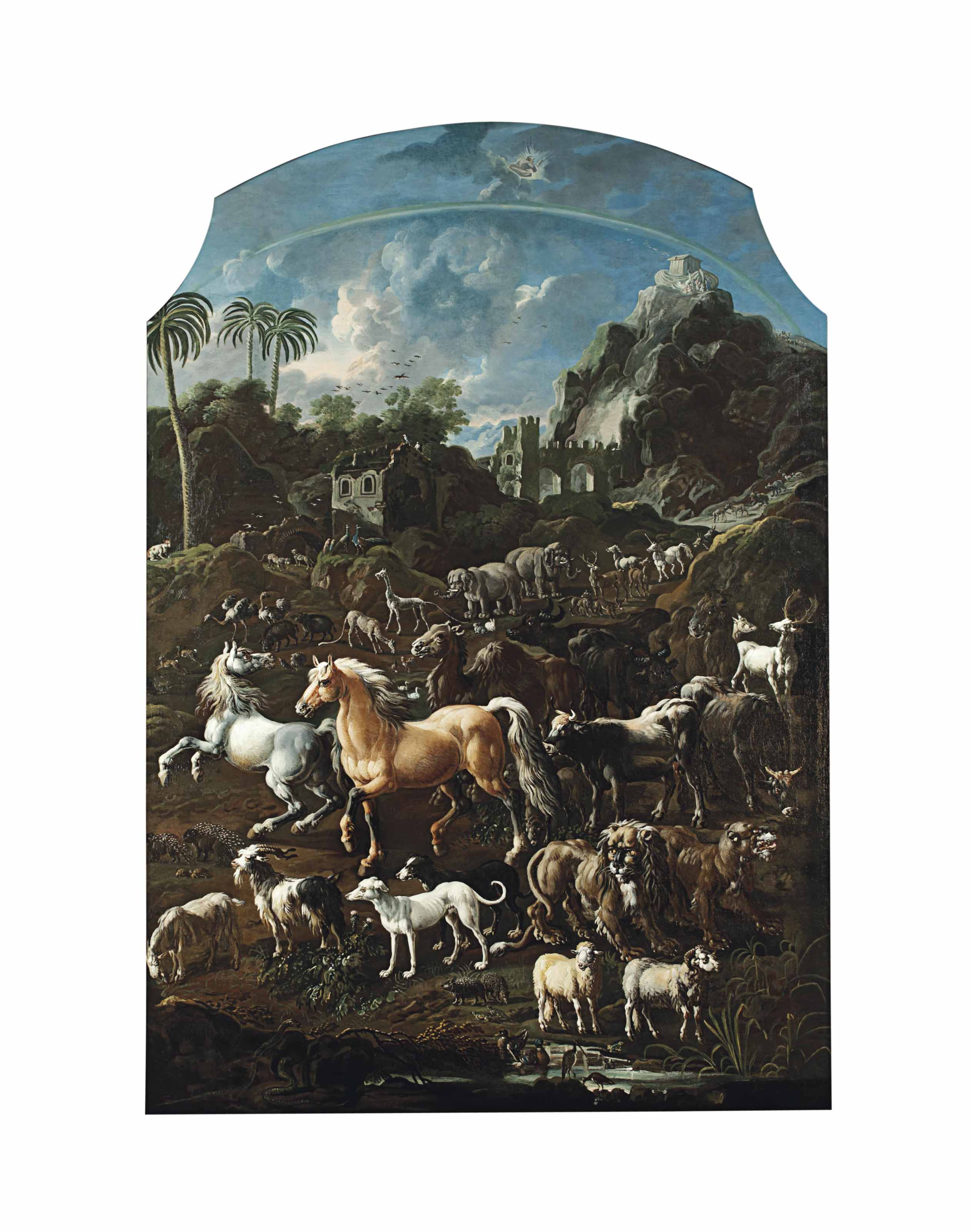 Cajetan Roos (Rome 1690-1770 V