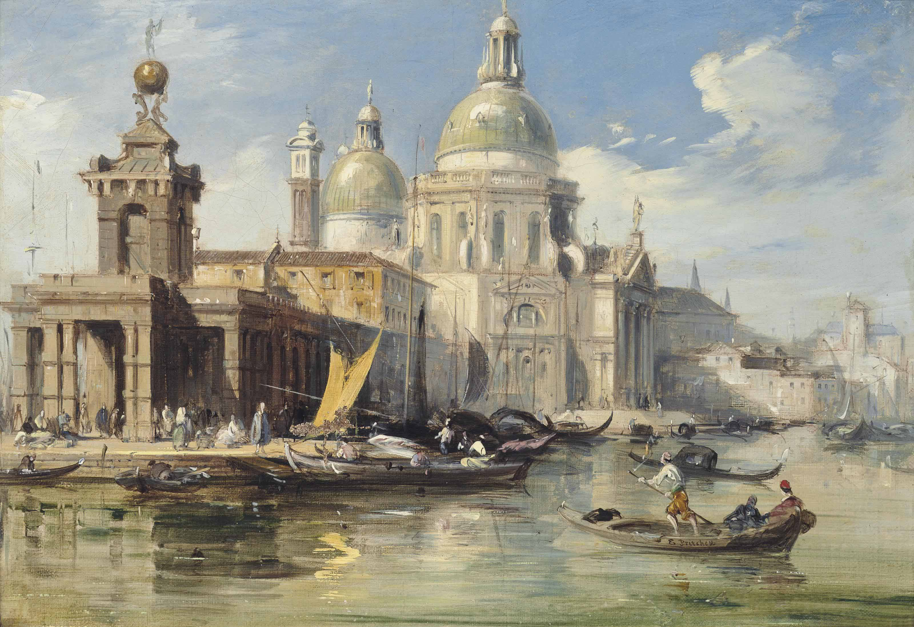 Santa Maria della Salute and the Dogana da Mar, Venice