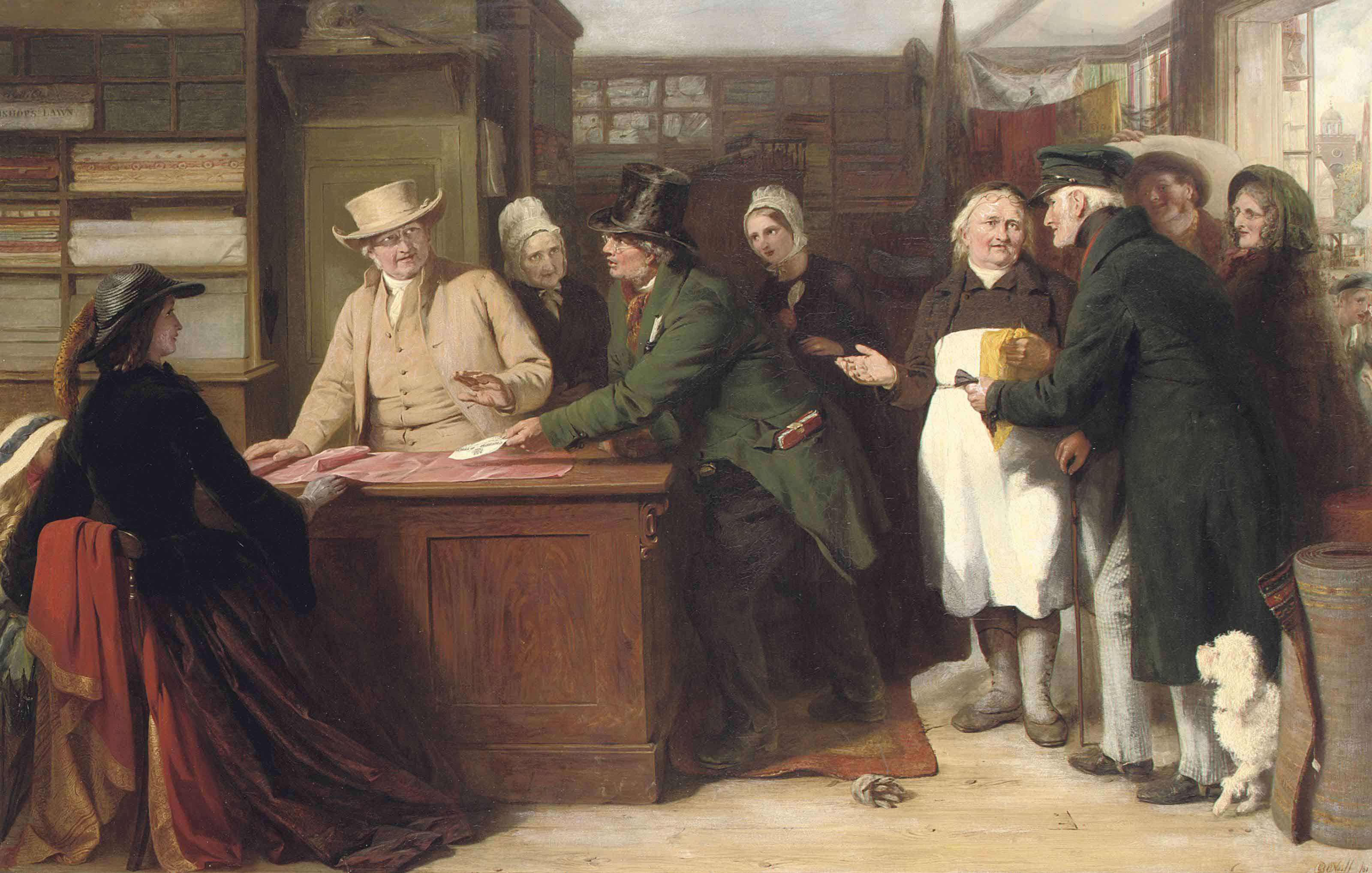 The Quaker and the Tax-Gatherer