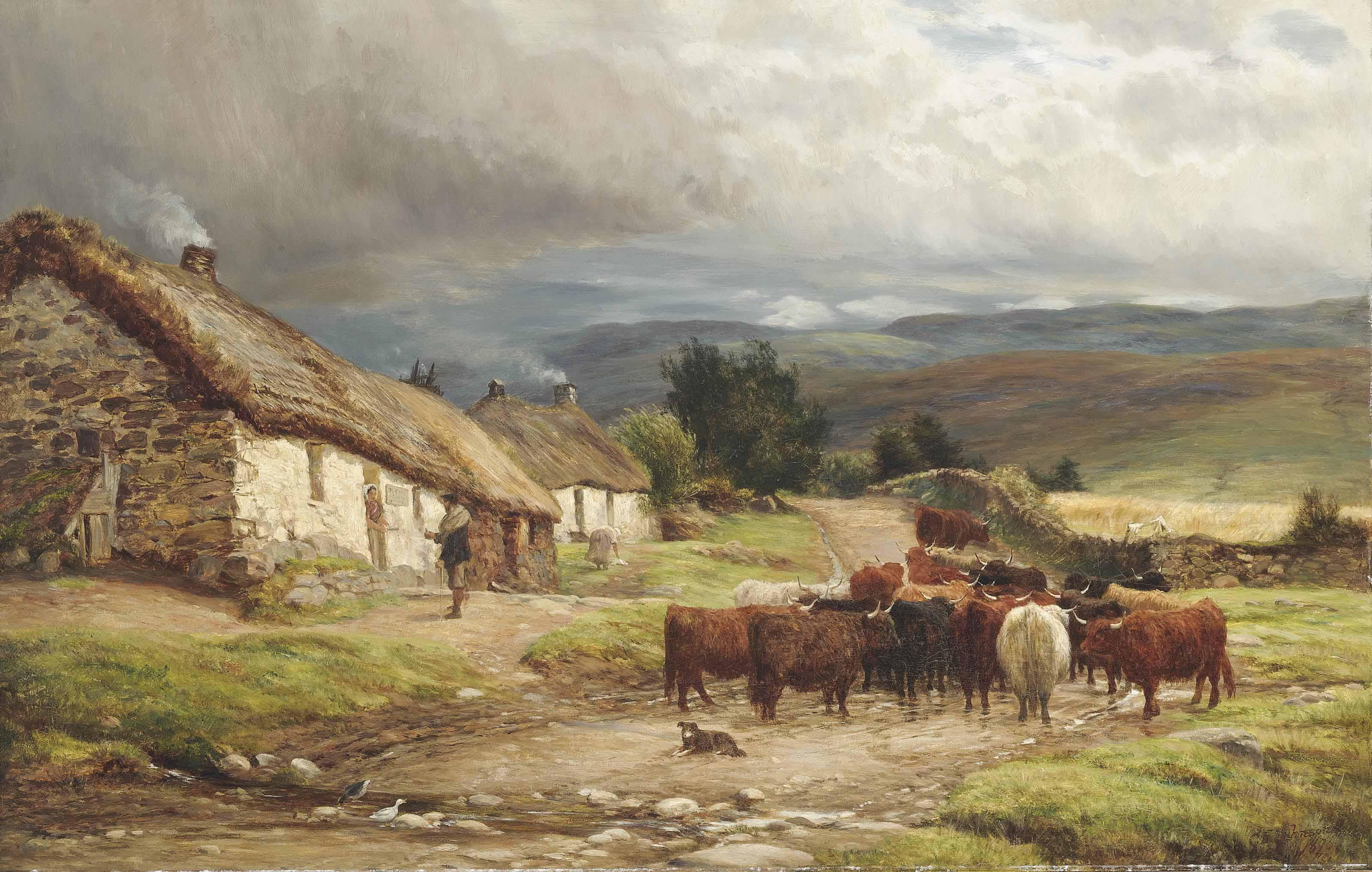 A Highland Clachan