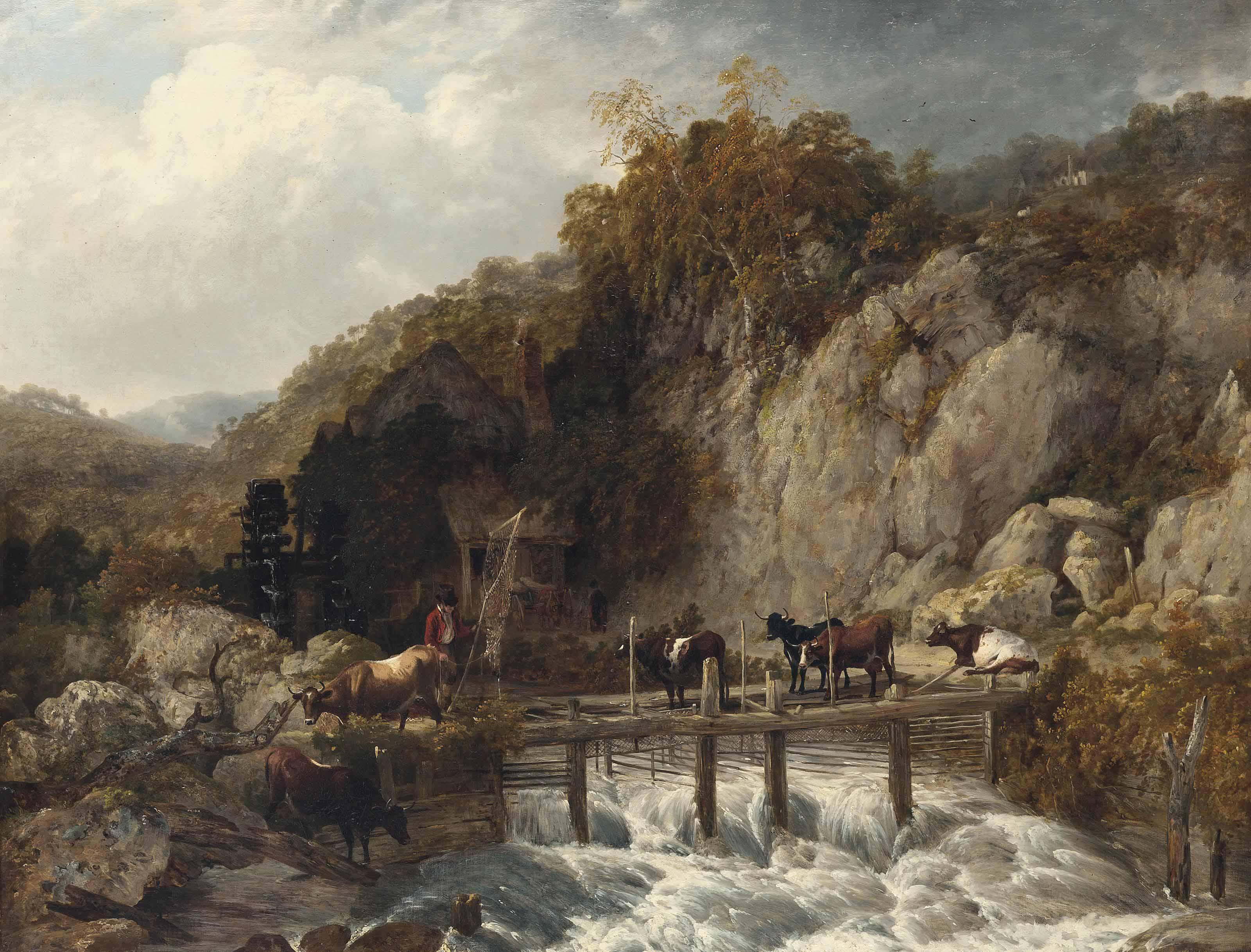 Umberleigh Mill, River Taw, Devon