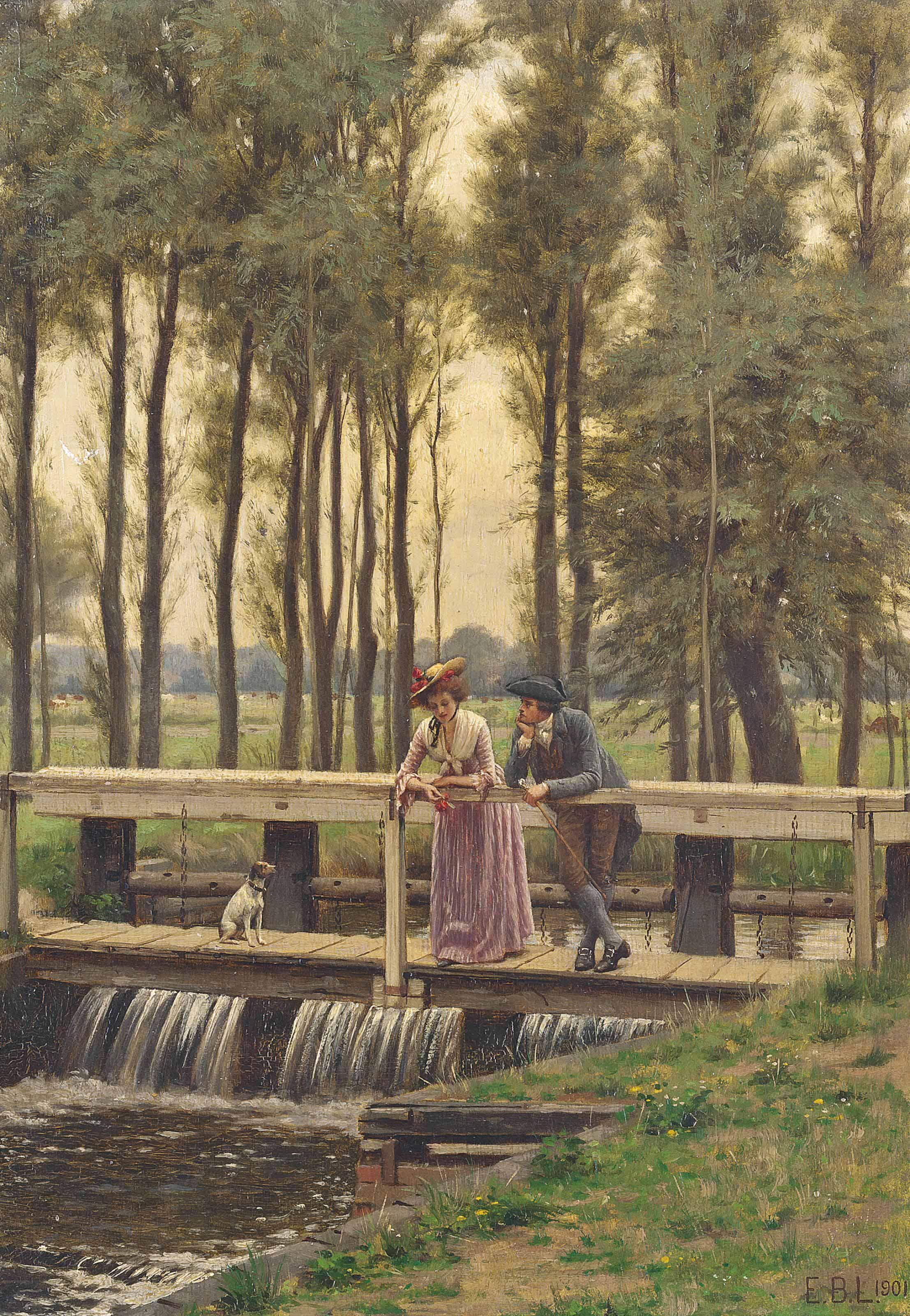 Edmund Blair Leighton (1852-19