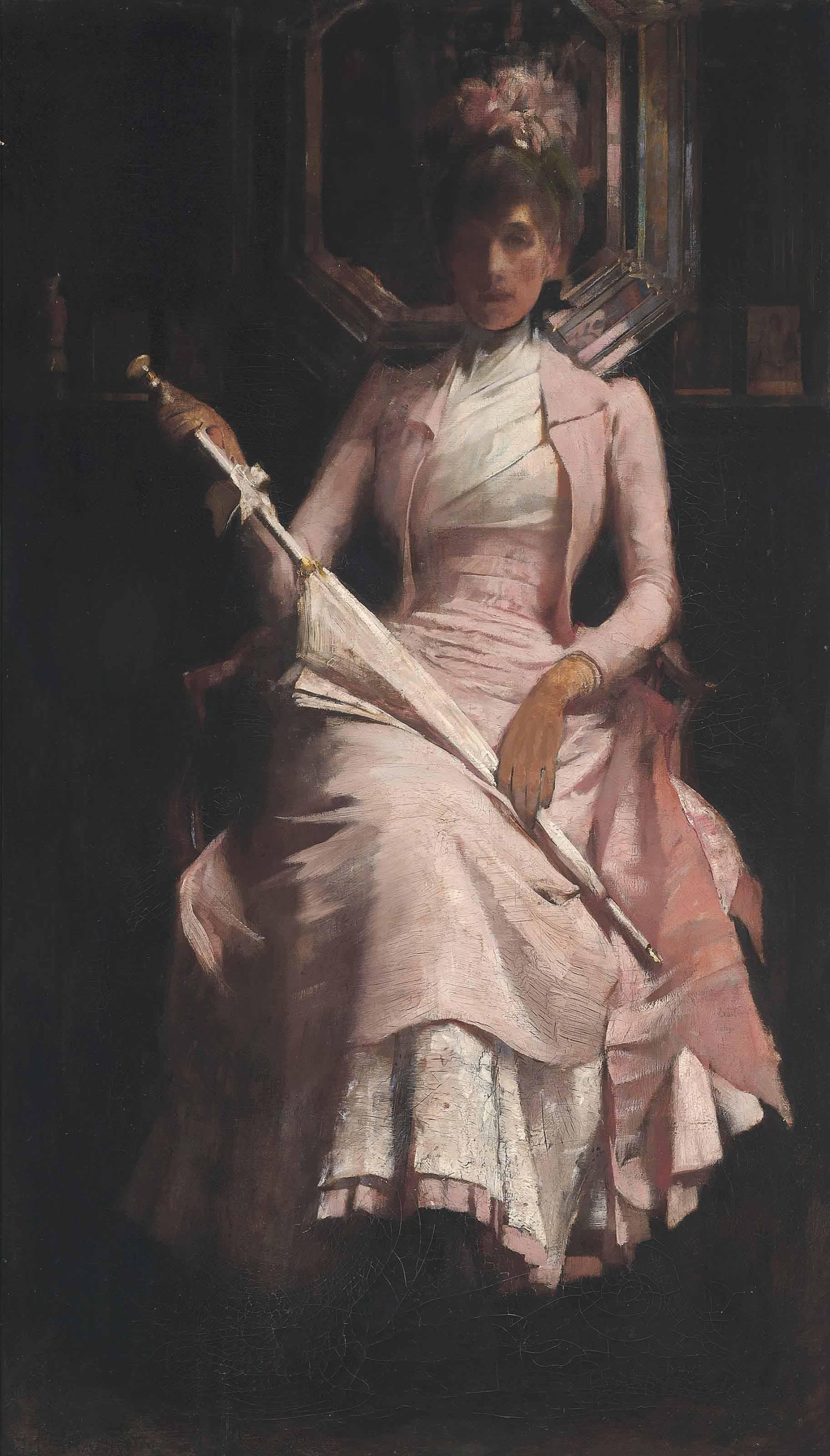 Rose pink, c.1888
