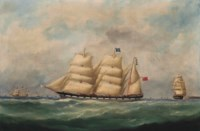 The John Paterson in three positions off Le Havre