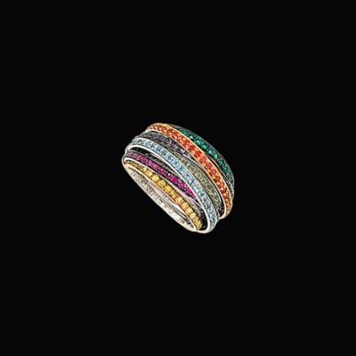 A gem-set 'Allegra' ring, by D