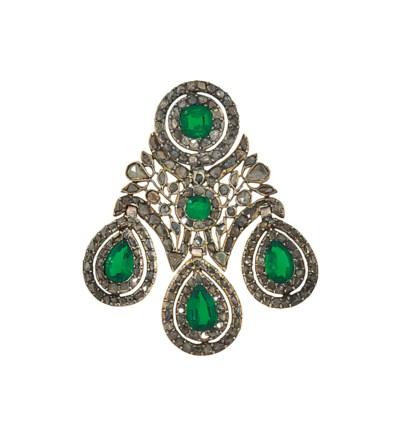 A late 18th century diamond an