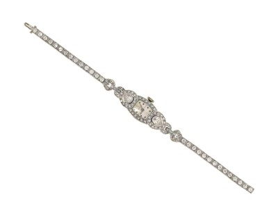 A diamond cocktail watch, by H