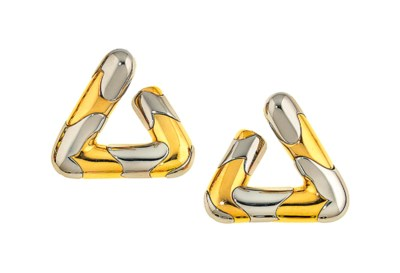 A pair of earrings, by Marina