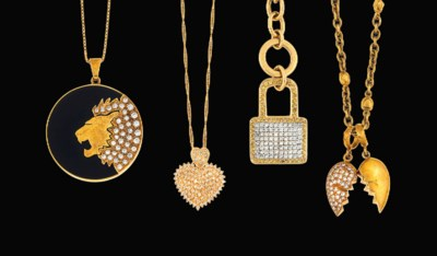 A small group of diamond-set n