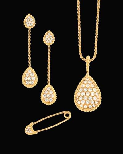 A diamond 'Serpent Boheme' pen