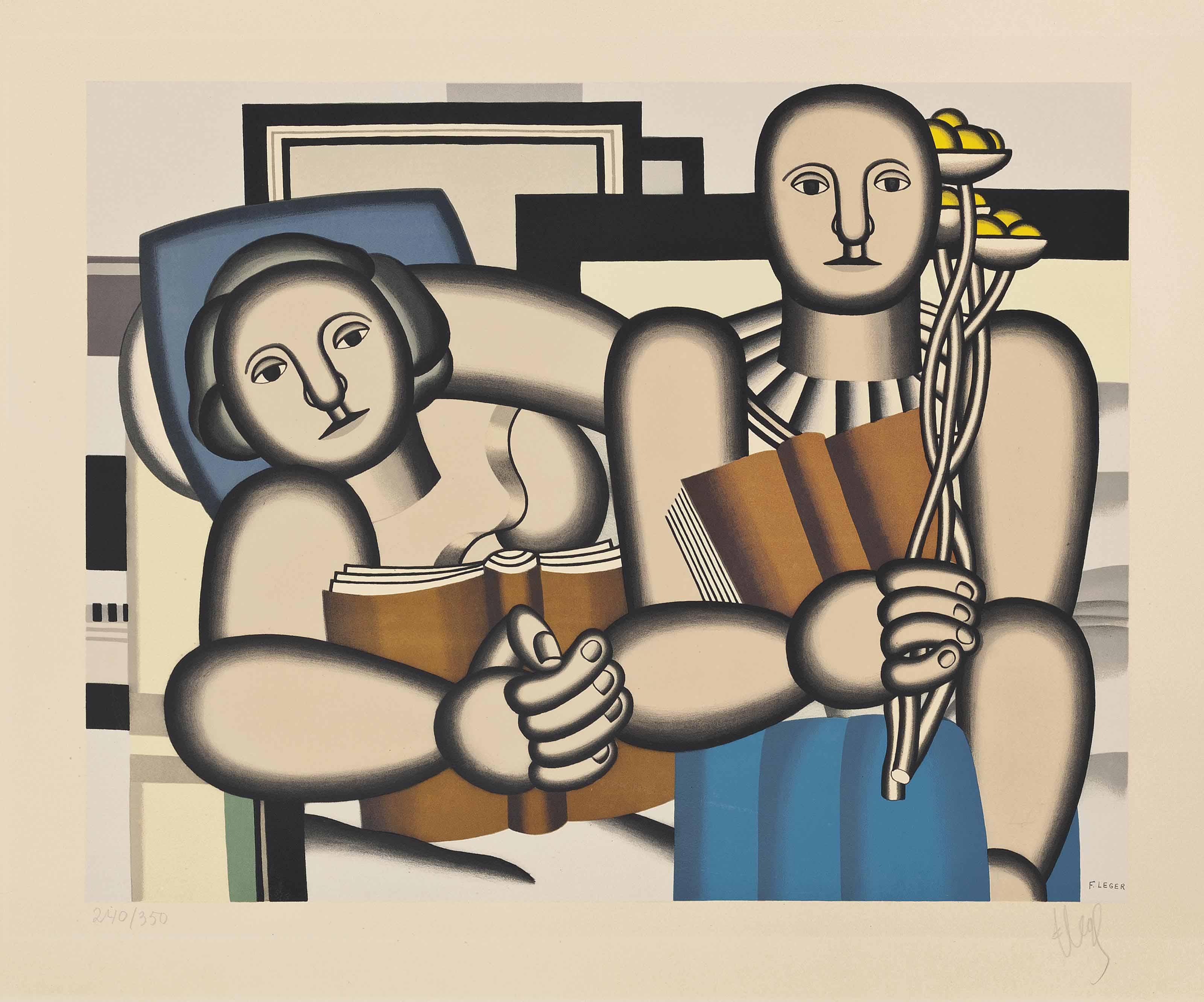 After Fernand Léger (1881-1955