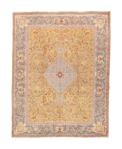 A fine unusual Tabriz carpet