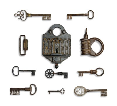 A COLLECTION OF EUROPEAN LOCKS