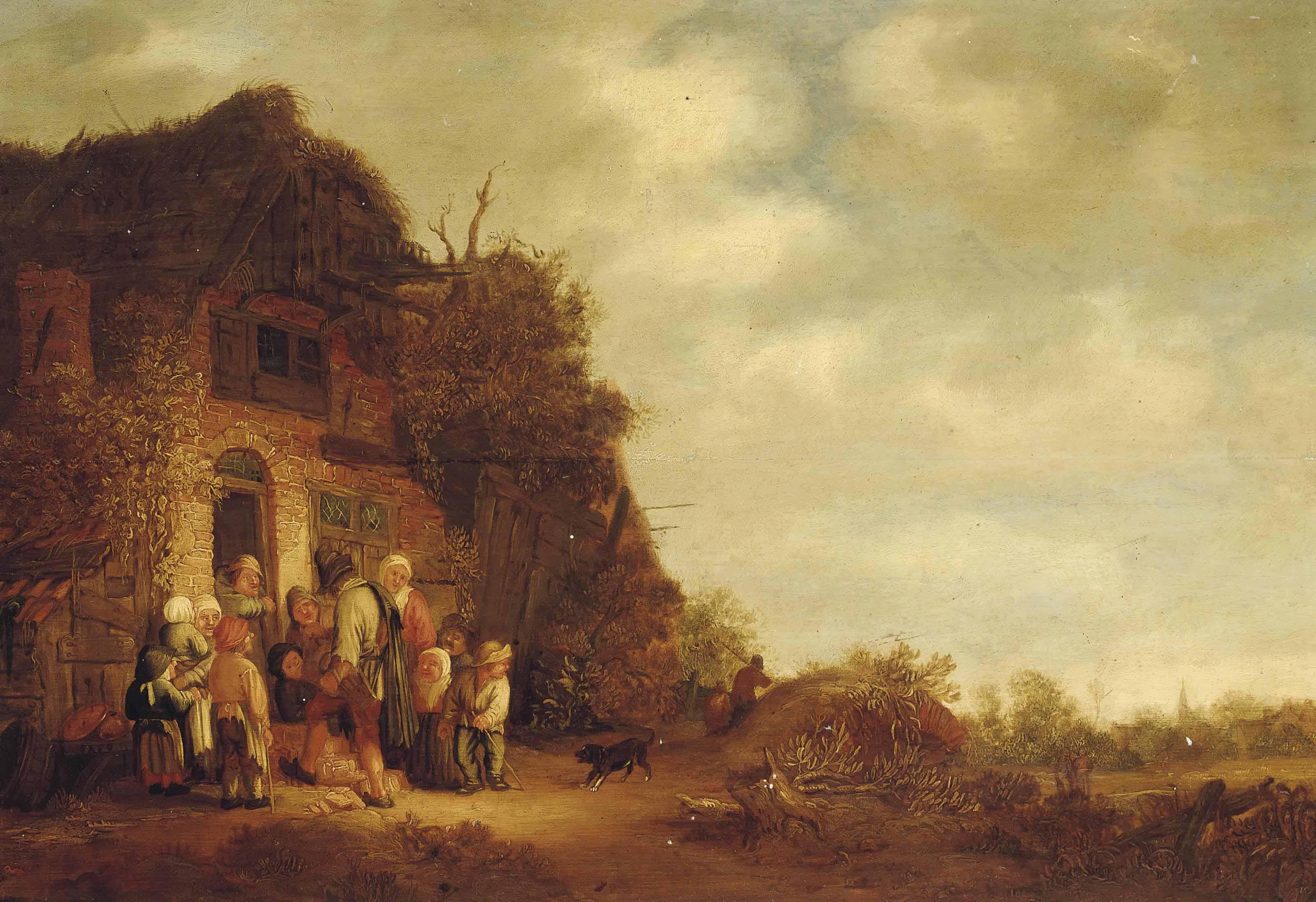 Circle of Isaac van Ostade (Ha