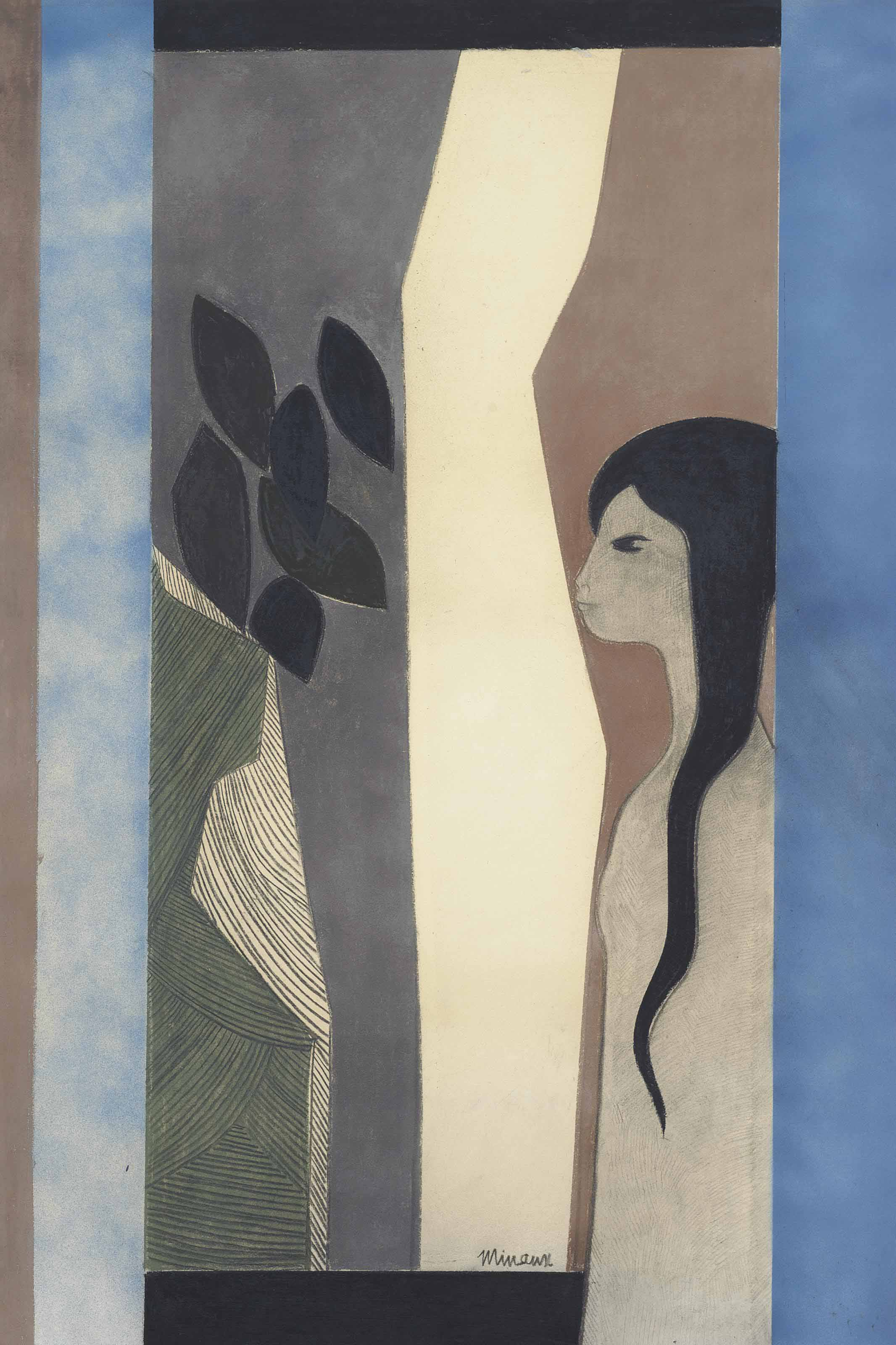 Andre Minaux (French, 1923-1986)